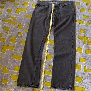 VERY NICE Men's ARMANI COLLEZIONI W38 Black Jeans